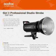 Load image into Gallery viewer, Godox SK300II Studio Strobe 300Ws