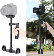 Load image into Gallery viewer, Neewer Carbon Fiber 24 inches/60 Centimeters Handheld Stabilizer