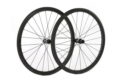 Farsports Carbon Fiber Wheelset 36mm (Disc Brake)
