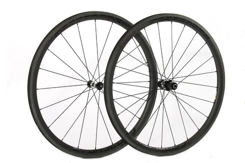 Farsports Carbon Fiber Wheelset 36mm (Rim Brake)