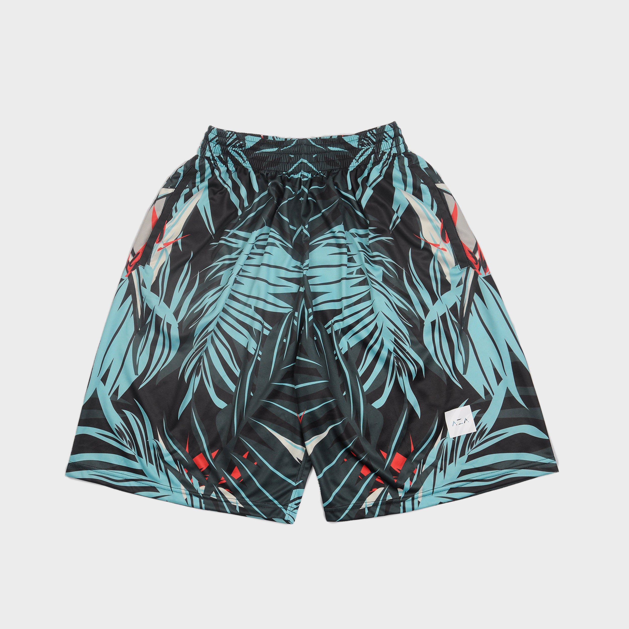 AZA Icon Floral Short - Black