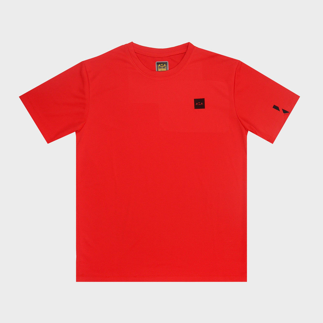 AZA Interval Basic T-Shirt - Red
