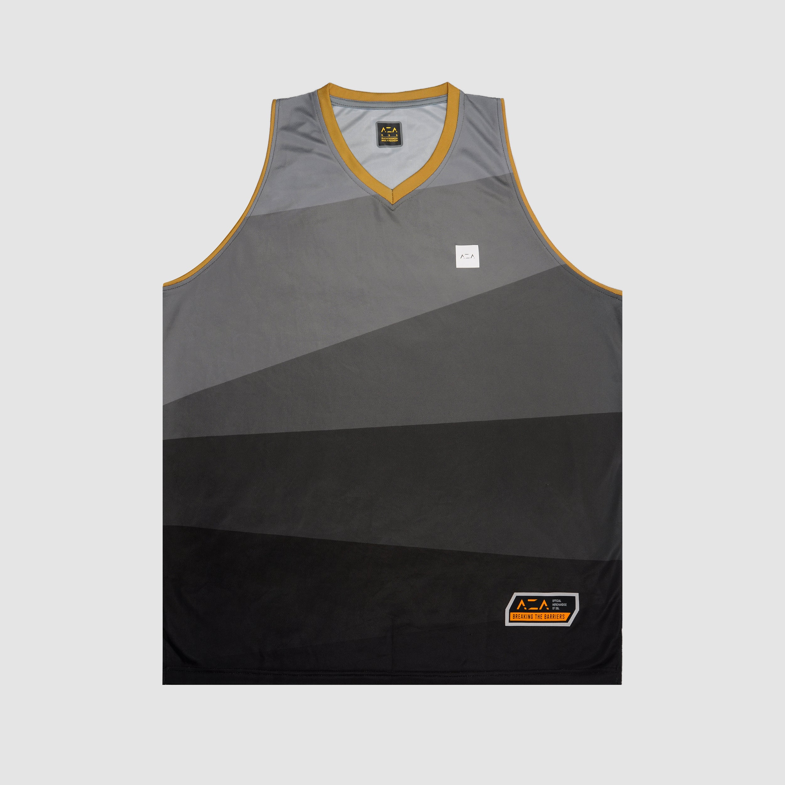 AZA Court Vector Jersey - Grey