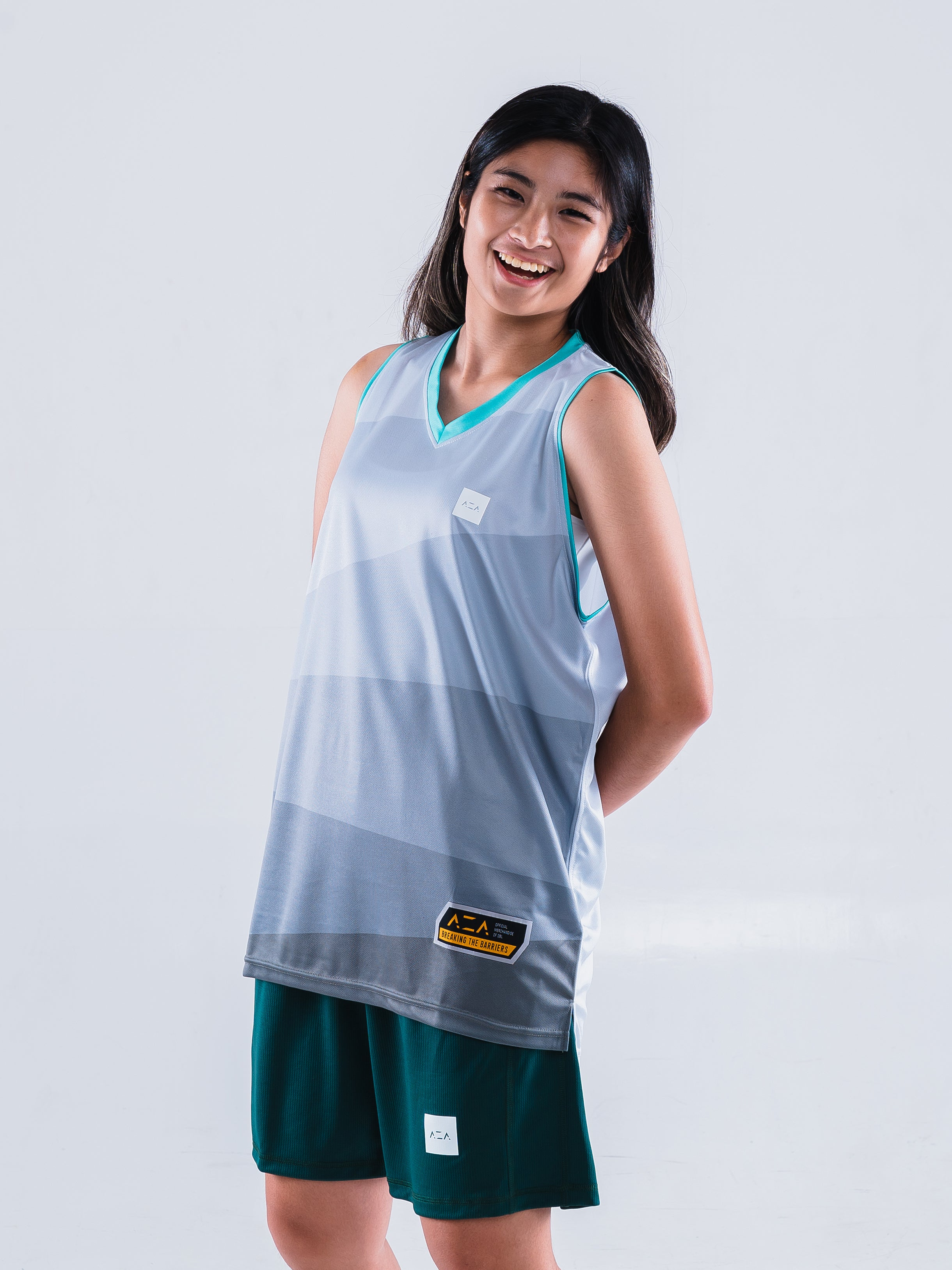 AZA Court Motion Jersey - Grey