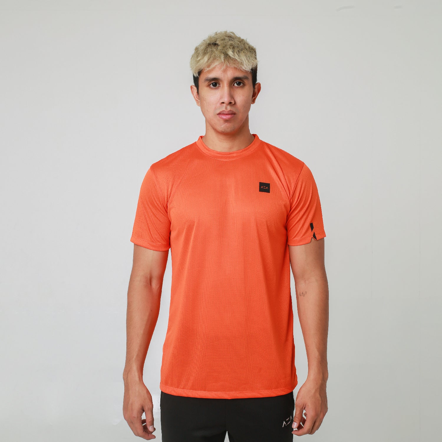 AZA Interval Basic T-Shirt - Orange