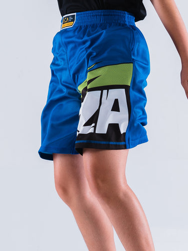 AZA Manga Strike Short - Blue/Green