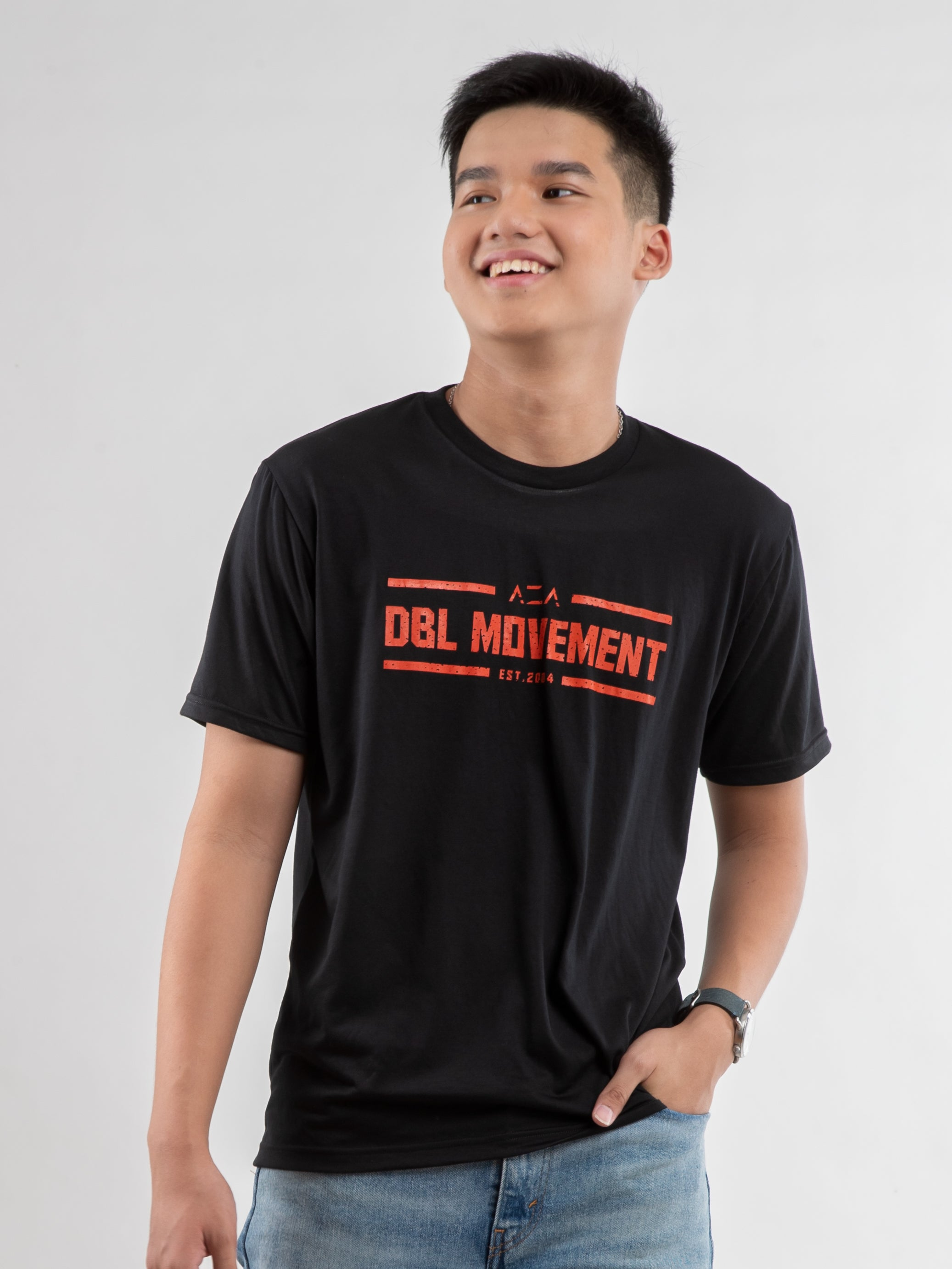 AZA x DBL Varsity Movement T-Shirt - Black