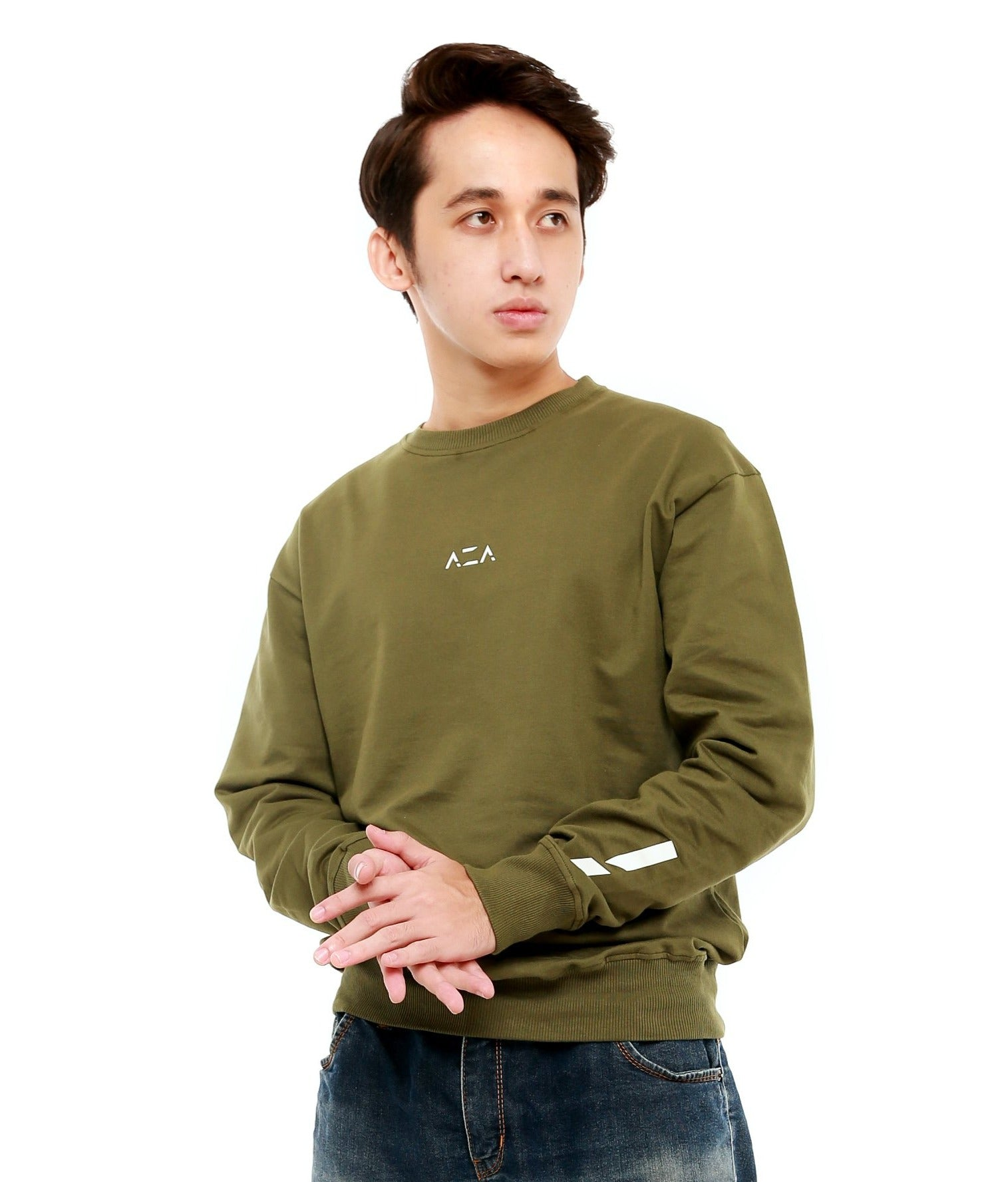 Sweater AZA Basic - Green