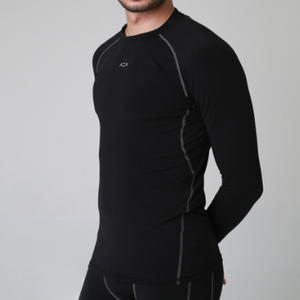 AZA Long Sleeve Baselayer - Black