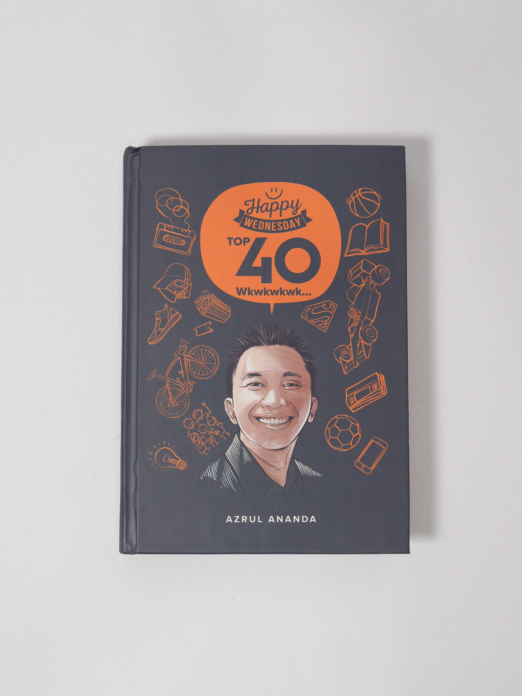 Azrul Ananda: Happy Wednesday TOP 40 - Books