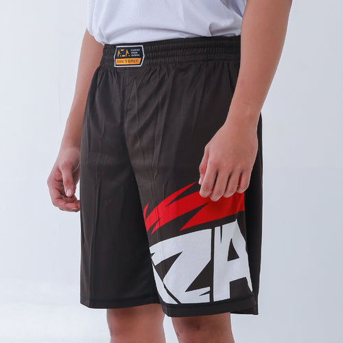 AZA Manga Strike Short - Black/Red