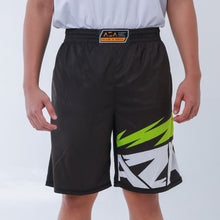Load image into Gallery viewer, AZA Manga Strike Short - Black/Green