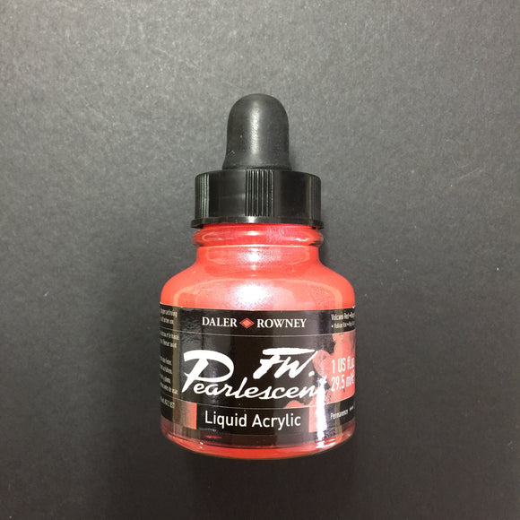 FW Artist Ink - Pearlescent Volcano Red