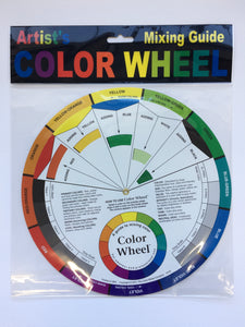 Artist Colour Wheel (Mixing Guide)