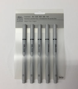 Winsor & Newton Fineliner Set of 5