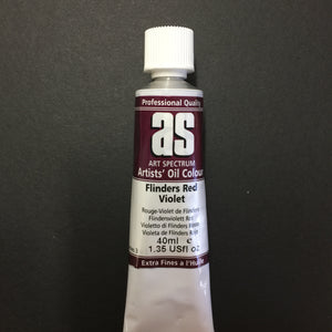 Art Spectrum Artist Oil Flinders Red Violet 40ml tube