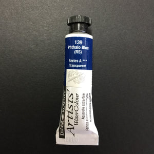 Daler-Rowney Artist Watercolour - Phthalo Blue (Red Shade) 139 - 5ml tube