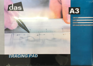 DAS Tracing Paper pad A3 90gsm