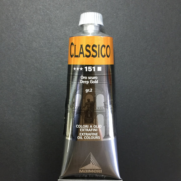Maimeri Classico Oil Deep Gold - 60ml tube