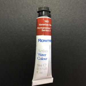 Daler-Rowney Artist Watercolour - Venetian Red 583  - 5ml tube