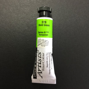Daler-Rowney Artist Watercolour - Vivid Green 378 - 5ml tube