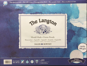 Langton Block 16x12inch (406x305) - ROUGH - 300gsm