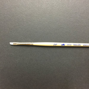 9950 Taklon Angular Brush - #1/8 inch