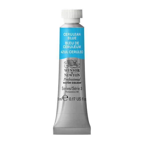 Winsor & Newton Professional Watercolour Cerulean Blue -Series 3 - 5ml tube