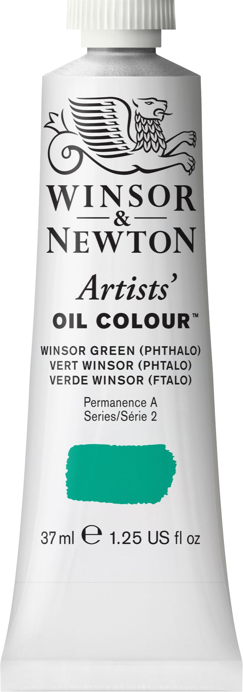 Winsor Newton Artist Oil Winsor Green (Phthalo) 720 - Series 2 - 37ml tube