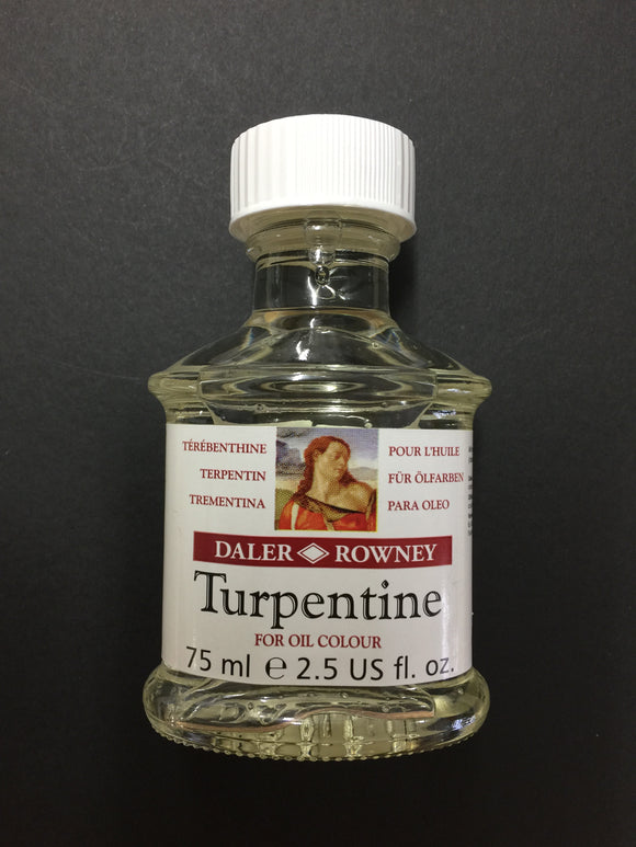 Daler Rowney Turpentine - 75ml