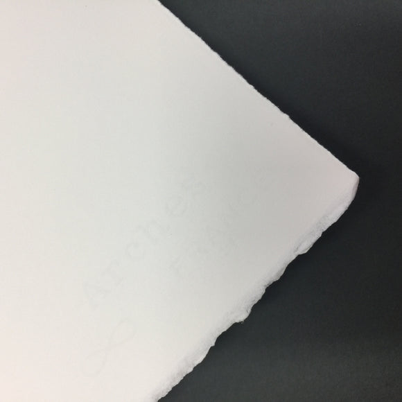 Arches Hot Press - Bright White - 300g Sheet 56 x 76cm HP