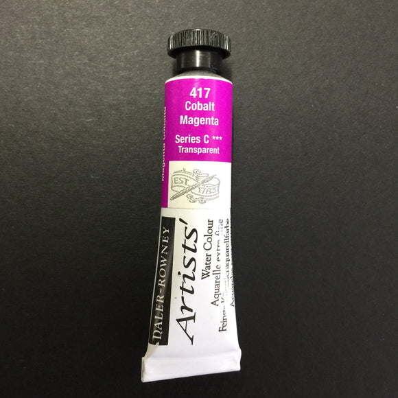 Daler-Rowney Artist Watercolour - Cobalt Magenta 417 - 5ml tube
