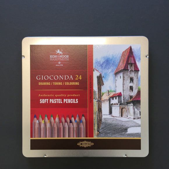 Gioconda SOFT PASTEL pencil - 24 set