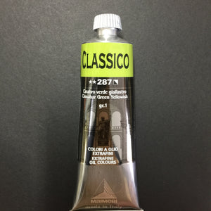 Maimeri Classico Oil Cinnabar Green Yellowish - 60ml tube