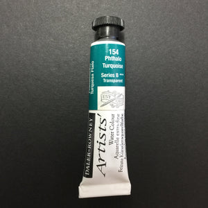 Daler-Rowney Artist Watercolour - Phthalo Turquoise 154 - 5ml tube
