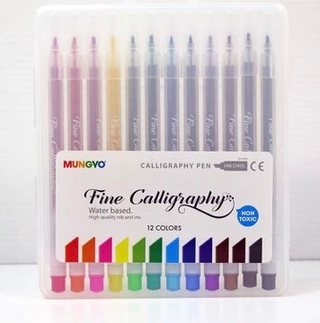 Mungyo Fine Calligraphy pen 12 set