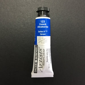 Daler-Rowney Artist Watercolour - French Ultramarines 123  - 5ml tube