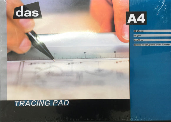 DAS Tracing Paper A4 pad 90gsm
