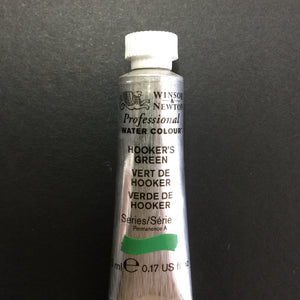 Winsor & Newton Professional Watercolour Hookers Green - Series 1 - 5ml tube