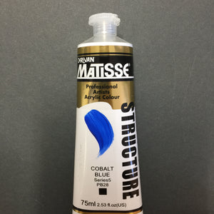 Matisse Structure Cobalt Blue 75ml tube