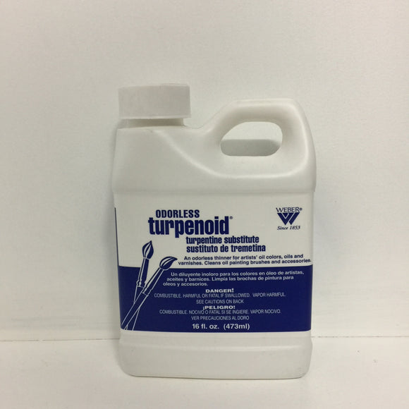 Webber Odourless Turpenoid - 473ml