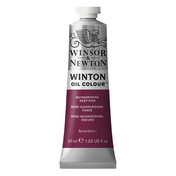 Winton Oil Colour Quinacridone Deep Pink - 37ml tube