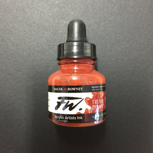 Daler Rowney FW artist ink Red Earth 29.5ml