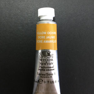 Winsor & Newton Professional Watercolour Yellow Ochre - Series 1 - 5ml tube