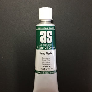 Art Spectrum Artist Oil Terre Verte 40ml tube