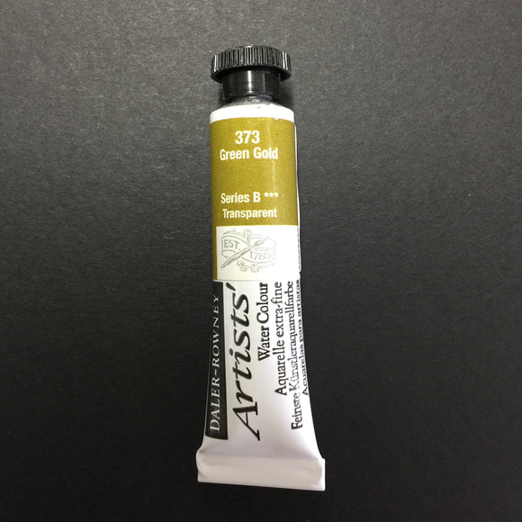 Daler-Rowney Artist Watercolour - Green Gold 373 - 5ml tube