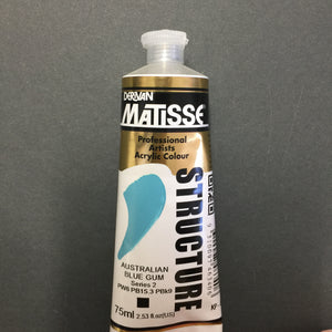 Matisse Structure Australian Blue Gum 75ml tube