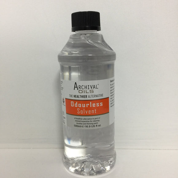 Archival Oils -Odourless Solvent 500ml