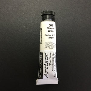 Daler-Rowney Artist Watercolour - Chinese White 001 - 5ml tube
