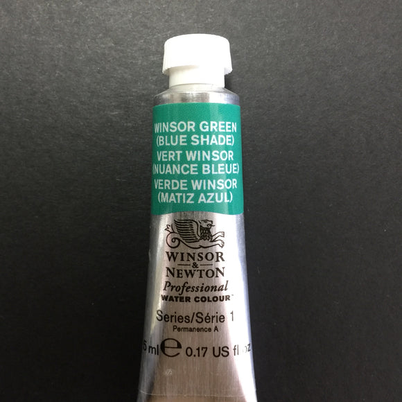Winsor & Newton Professional Watercolour Winsor Green (Blue Shade) - Series 1 - 5ml tube